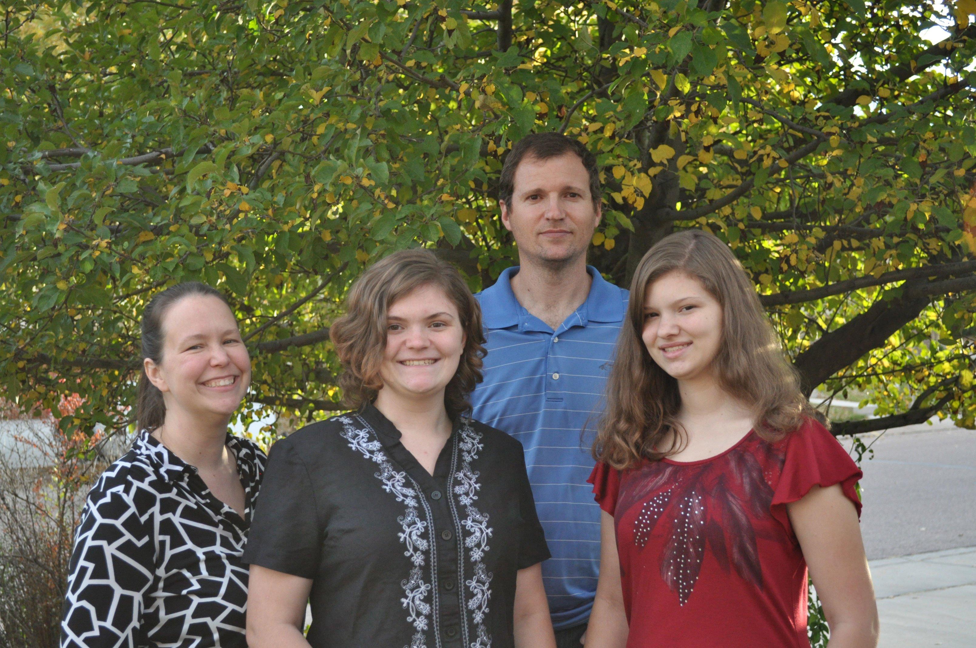 Anni Mezzofante and family
