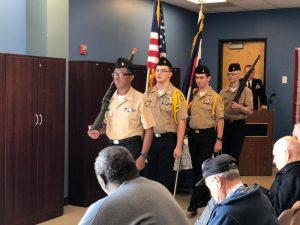 2018 Voyages Veterans' Day Celebration