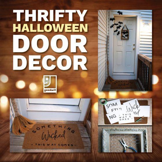 Halloween DIY: Door Décor