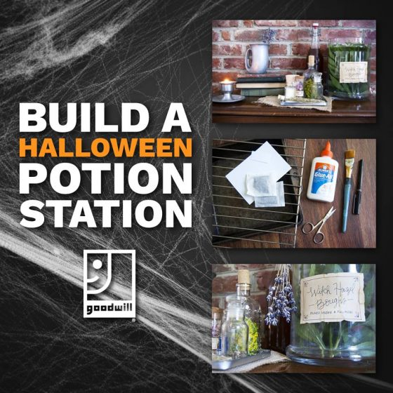 Halloween DIY: How to Build Your Own Potion Station