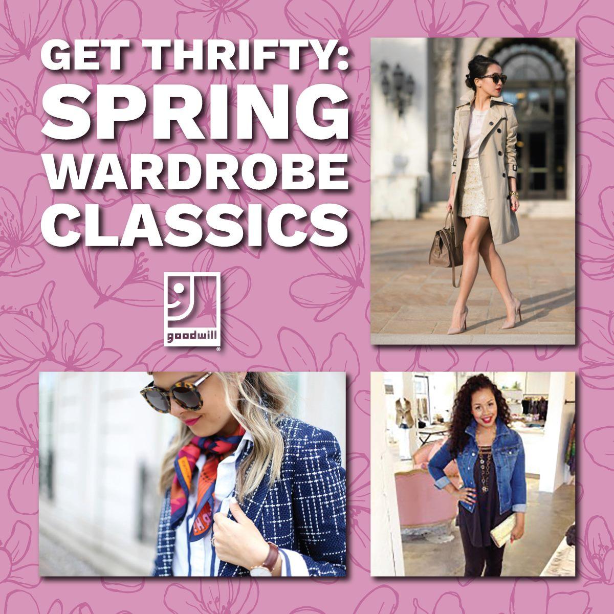 spring wardrobe classics blog
