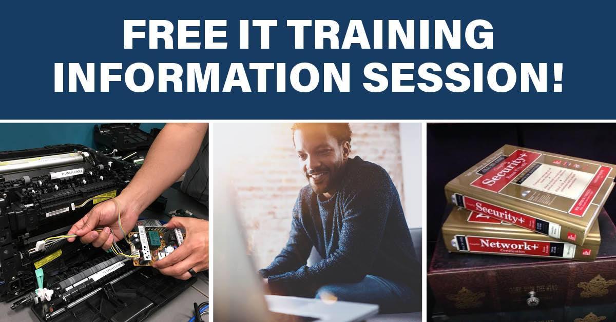 Virtual IT Training Information Session